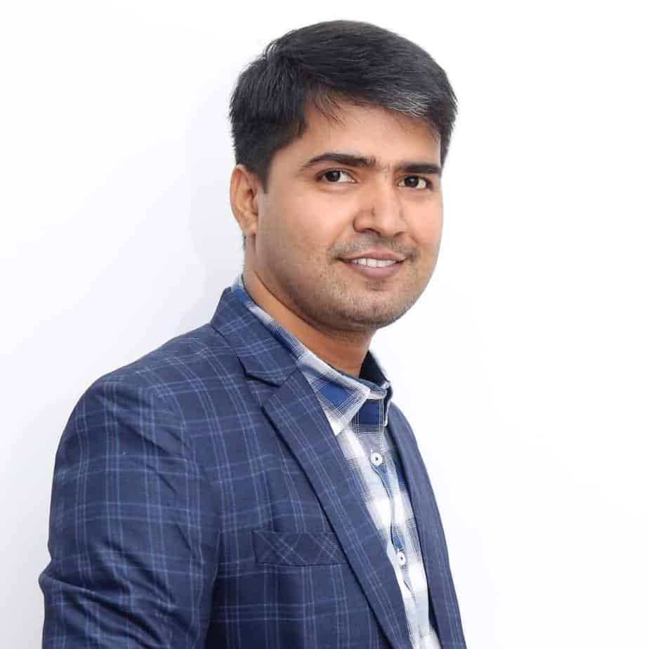 Ambesh Tiwari photo for media